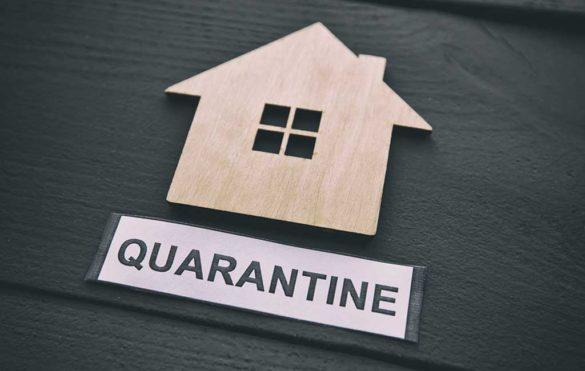 break the Quarantine glass